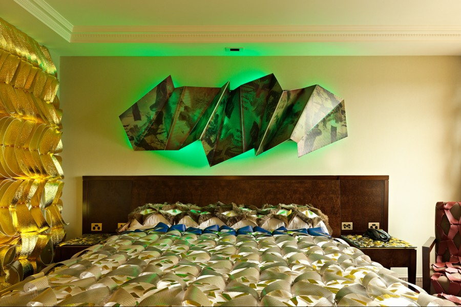 Hotel Otherworldly manifests within the decay of an existing 1970s landmark Melbourne hotel