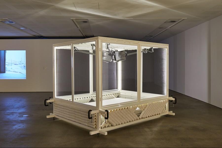 2015 Palanquin, installation/ sculpture, Shelter Union Exhibition, UNSW Galleries